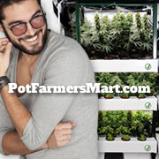 Pot Farmers Mart Cannabis Grow Tents