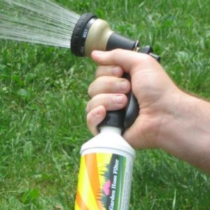 Garden Hose Filter Removes Chlorine