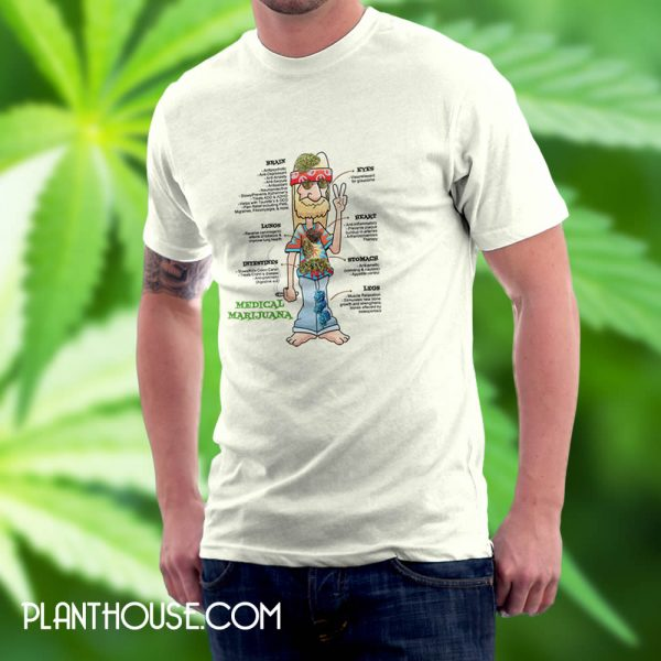 Medical Marijuana Benefits T Shirt