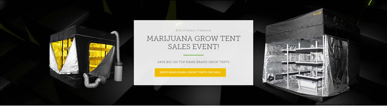Shop Grow Tents Growing Cannabis
